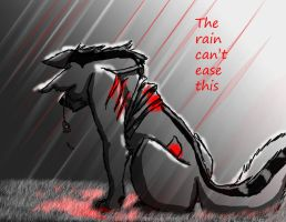 The rain by Woof-Gurl
