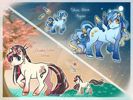 Pony Adoptables/ AUCTION/ CLOSED by Belliko-art