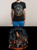 Evil Will Burn for sale at Threadless by dandingeroz
