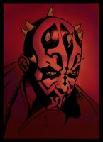 Darth Maul colors by Ralstaan