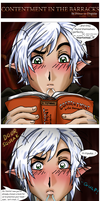Fenris - Contentment in the Barracks by Prince-in-Disguise