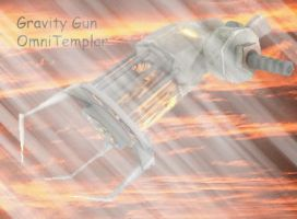 Gravity Gun Rainy day by JBCFenix
