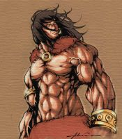CONAN the barbarian - Coloured by tai-gar