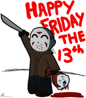 Happy Friday the 13th by Asp3ll
