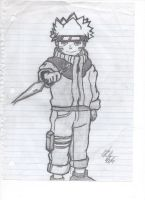 Naruto Drawing by HurricaneJosh