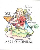 Fairies of the US- the Rocky Mountains by Deisi