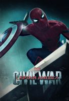 Captain America Civil War Poster : Spider-Man by NO-LooK-PaSS