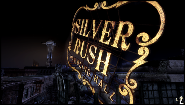 Fallout  new vegas SILVER RUSH by gamer1312
