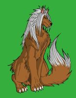 xemnas in wolf form by nightmarelover