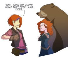 Artifacts and Redheads and Bears by ComickerGirl