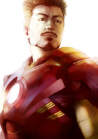 Tony Stark: Iron Man by malikaa