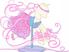 MLP FIM Pinkie Pie Dress Design by Taiya001