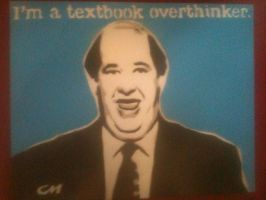 Kevin - The Office by Stencils-by-Chase