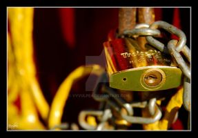 Padlock no. 4 by vvvulpea