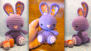 Spring Easter Bunny Rabbit Amigurumi Crochet Doll1 by Spudsstitches