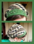 Crochet Camo hat by KnitLizzy