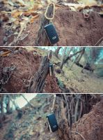 A tree stole my car by IntroIuvara