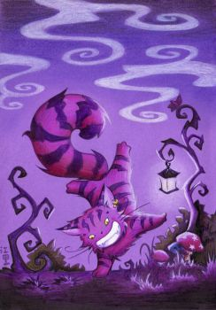 Cheshire Cat by ColorMeltdown