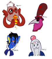 Circus Darkrai : Sketches by VoxRobotics