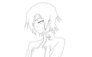 Lelouch Lineart by doll-fin-chick