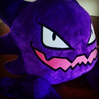 Haunter Plush by InuYoukai-Chan