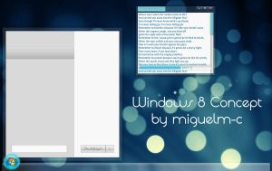 Windows 8 Concept by miguelm-c
