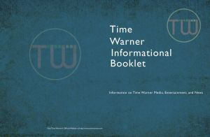 Time Warner Brochure Cover and Back Cover by SeeMooreDesigns