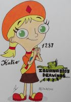 Katie - The Fireside Girls - N.1287 by IGUANA2003DRAWINGS