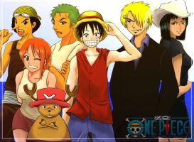one piece crew by Yabukl
