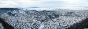Brasov Panorama by Cipgallery