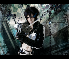 Black Rock Shooter cosplay I by Akitozz6