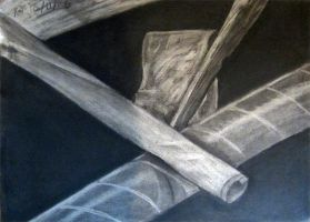 Charcoal Still Life 05 by guardian-of-moon