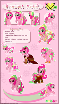 Precious Metal Reference Sheet By White Moonlight- by Mimiero