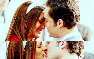 Chuck and Blair Wallpaper by lovescole