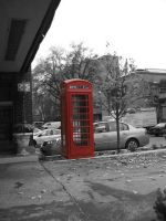 Phone Booth by Haayls