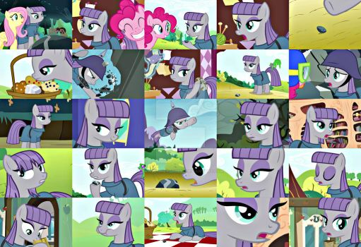 Maud Pie Collage by RandomMLPThings