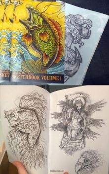Sketchbooks for sale! by dmillustration