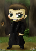 Chibi Victor Creed - Sabretooth by Isi-Daddy