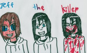Jeff the killer by shadowlover40