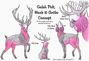 TEF Galah Pelt by ghost-eye