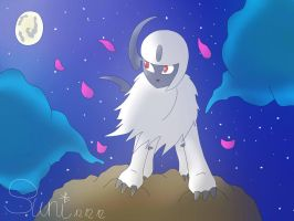 absol by Thr33littl3Birds