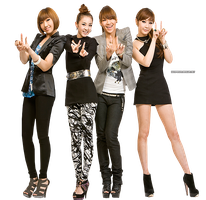 PNG : 2NE1 by chazzief