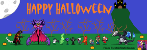 Happy Halloween (2014) by ElectricStaticGamer
