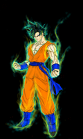 Goku by CalLendros