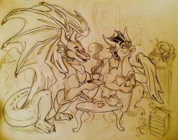 The PenDragons (WIP) by Alexbee1236