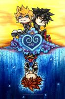 KH: Fragments of Heart by evilitachi