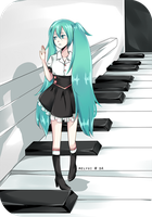 Piano Walk by melyui