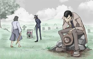 Death of Lupin by weezajin