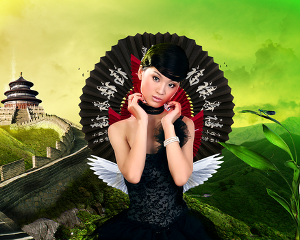 green china by Des3rt