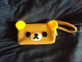 Rilakkuma 3DS case by mysteriousmage
